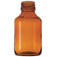 SECRO PP28 50ml Amber Glass Bottle